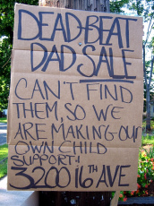 Dead-beat Dad sale